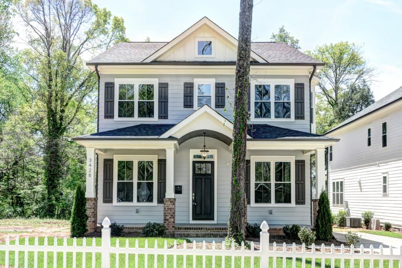 New Construction in Plaza Midwood Area | 4 Bedrooms | 2.5 Bathrooms