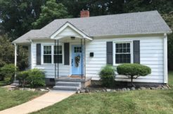 UNDER CONTRACT: Renovated 2 BR | 1 Bath Cottage in Commonwealth